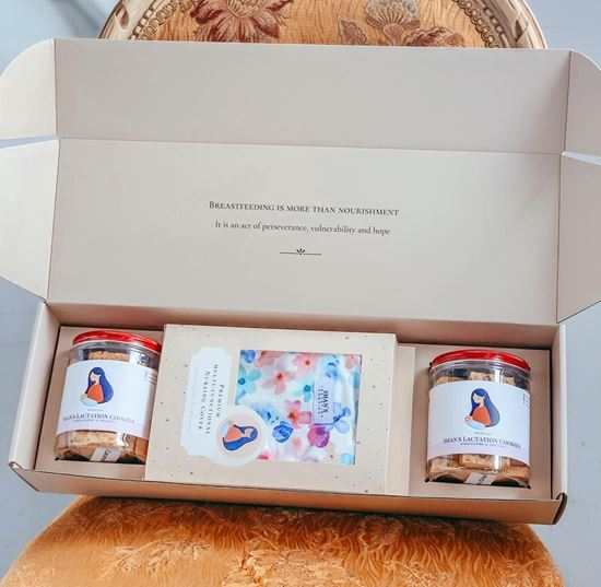 Picture of New Mum Gift Box (With Nursing Cover)
