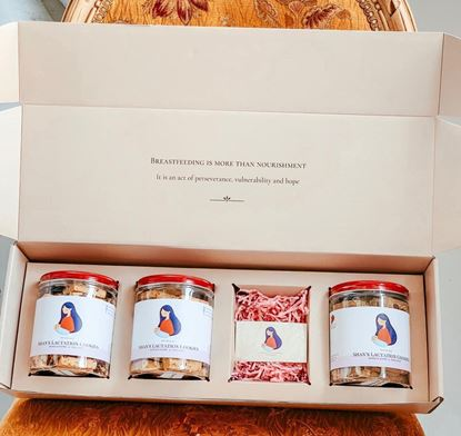 Picture of New Mum Gift Box (4 Cookies)